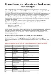 Kennzeichnung von elektronischen Bauelementen in ... - HTL Wien 10