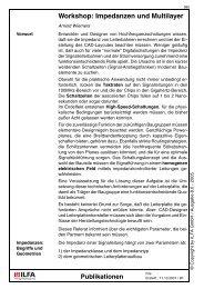 Workshop: Impedanzen und Multilayer - HTL Wien 10