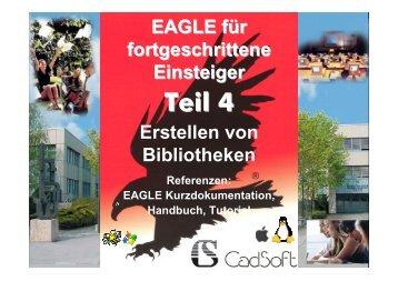 EAGLE für fortgeschrittene Einsteiger - HTL Wien 10