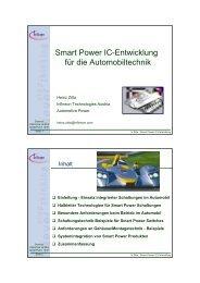 Smart Power IC-Entwicklung für die Automobiltechnik - HTL Wien 10