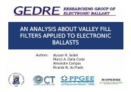 an analysis about valley fill filters applied to ... - HTL Wien 10
