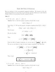 Math 308 Week 10 Solutions