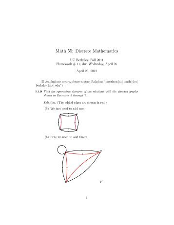 Math 55: Discrete Mathematics