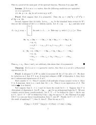 This is a proof of the main part of the spectral theorem, Theorem 3 ...