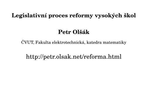 Devět slídů - Petr Olsak