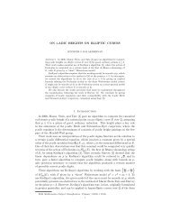 ON 3-ADIC HEIGHTS ON ELLIPTIC CURVES 1. Introduction In 2006 ...