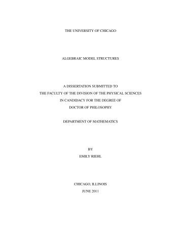 Mathematics dissertation