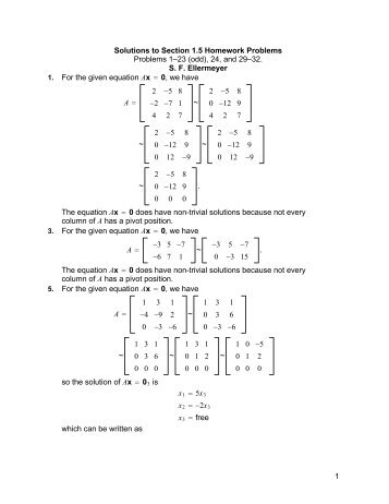 Solutions to Section 1.5 Homework Problems Problems 1?23 (odd ...
