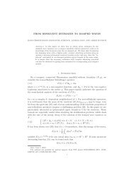 Here - Department of Mathematics - Stanford University