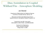 Data Assimilation in Coupled Wildland Fire - Atmosphere Modeling