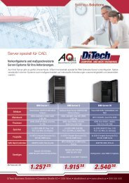 Server speziell für CAD. - A-Null EDV Gmbh
