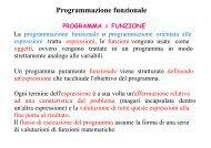 Programmazione Funzionale e Lisp