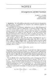 Derangements-Clarke adn Sved.pdf - MathDL