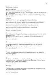 1.6. Die lineare Funktion Einführendes Beispiel: Taxitarife in ...