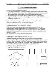 2.2. Invarianz von Größen - Mathematik