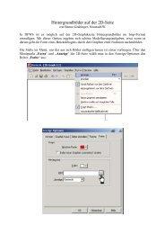 Hintergrundbilder auf der 2d-Seite
