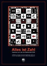 Kalender zum Jahr der Mathematik 2008 - Mathematik im Kontext ...