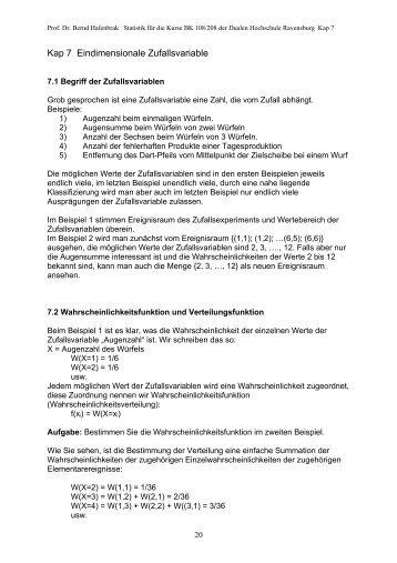 Kap 3 Mittelwerte - Mathematik