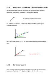 Mitschrift - Mathematik