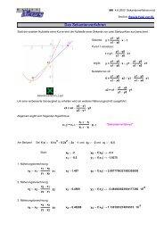 Mathcad - Sekantenverfahren.mcd - MatheNexus