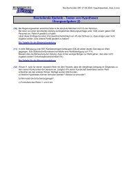 Beurteilende Statistik - Testen von Hypothesen ... - MatheNexus