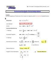 Extremwertaufgabe Schachtelproblem - MatheNexus