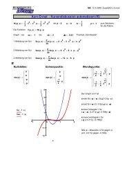 Kurv-O-mat - Kurvendiskussion automatisiert (f5) - MatheNexus