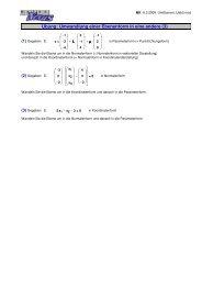Übung: Umwandlung einer Ebenenform in eine ... - MatheNexus