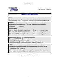 Exponentialgleichungen - MatheNexus