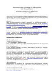 Assessment Policies and Practices for Undergraduates (Old ...