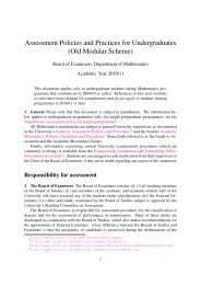 Old Modular Scheme - Department of Mathematics
