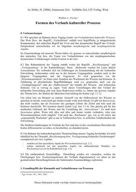 Walther L - Matreier Gespräche
