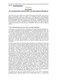 Burgis Heller - Matreier Gespräche