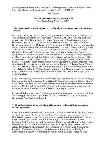 Max Liedtke - Matreier Gespräche