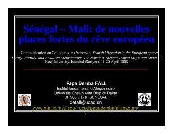 SENEGAL MALI Turquie ppt.pdf - Matrix
