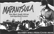 First Black South African Anti-Apartheid Feature - KORA - Michigan ...