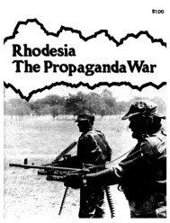 Rhodesia The PropagandaWar - KORA