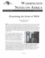 Examining the Goals of WOA - KORA
