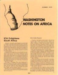 NOTES ON AFRICA - KORA