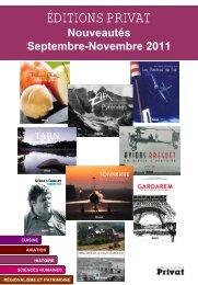 Nouveautés Septembre-Novembre 2011 - Mausoleo