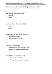 Wer soll eine Geschichte erzählen? - Obelisk-Verlag