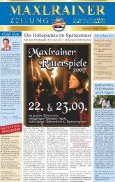 22. & 23.09. 22. & 23.09. - Schlossbrauerei Maxlrain
