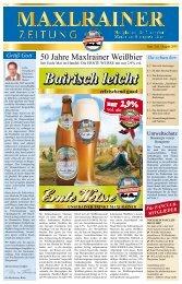 Bairisch leicht - Schlossbrauerei Maxlrain