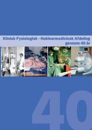 Jubilæumsskrift del I - Hvidovre Hospital