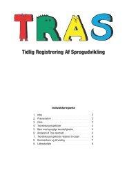 Artikel om TRAS - spf – nyheder . dk