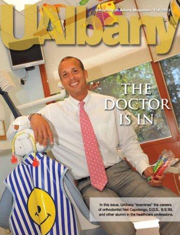 Fall 2012 UAlbany Magazine - University at Albany