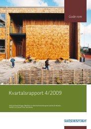 Kvartalsrapport 4/2009 - Cision
