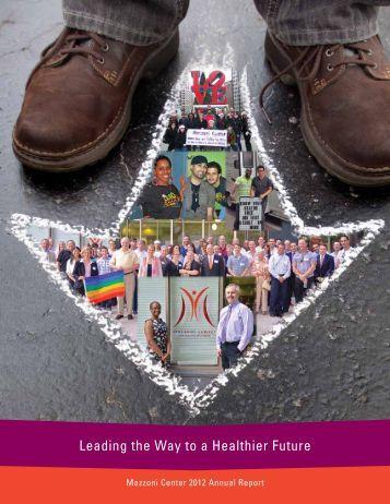 2012 Annual Report - Mazzoni Center