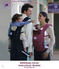 ERGObaby Carrier Instructional Booklet