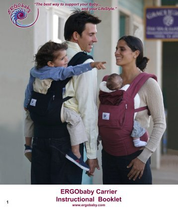 ERGObaby Carrier Instructional Booklet